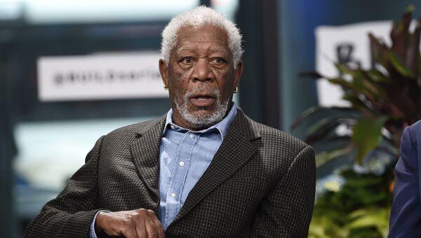 Americký herec Morgan Freeman - Sputnik Česká republika