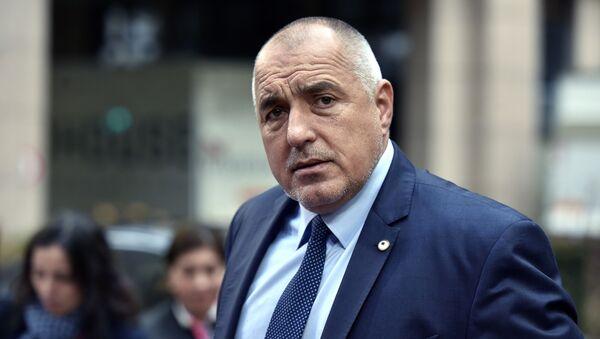 Bulharský premiér Bojko Borisov - Sputnik Česká republika