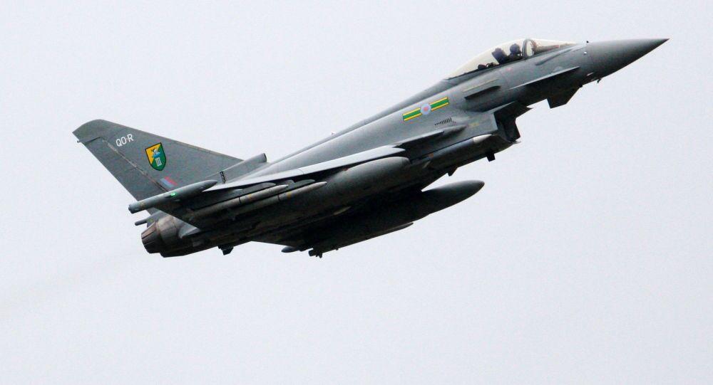 Letadlo britského královského letectva Typhoon