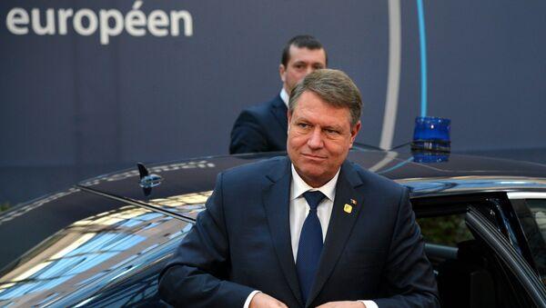 Rumunský prezident Klaus Iohannis - Sputnik Česká republika