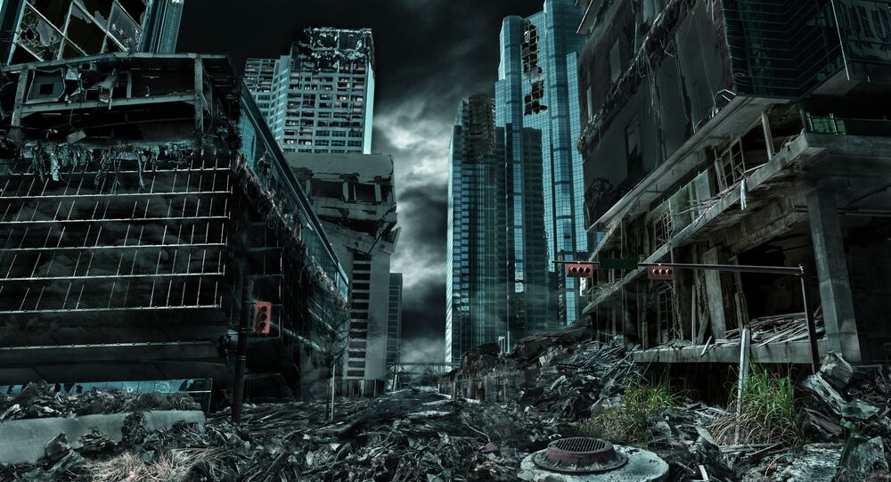 Zničené město