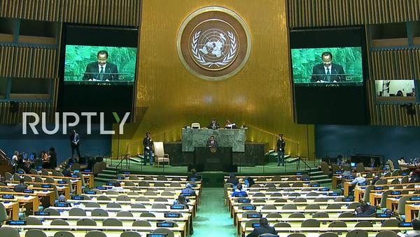 72. zasedání Valného shromáždění OSN: den čtvrtý - Sputnik Česká republika