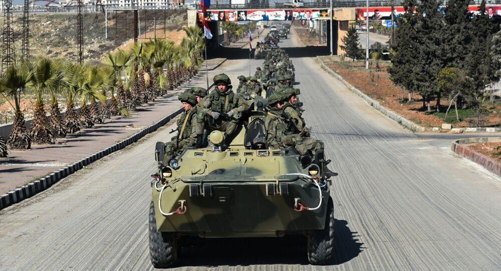 Ruští vojáci v Sýrii. Ilustrační foto