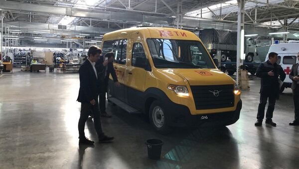 Nový mikroautobus UAZ - Sputnik Česká republika