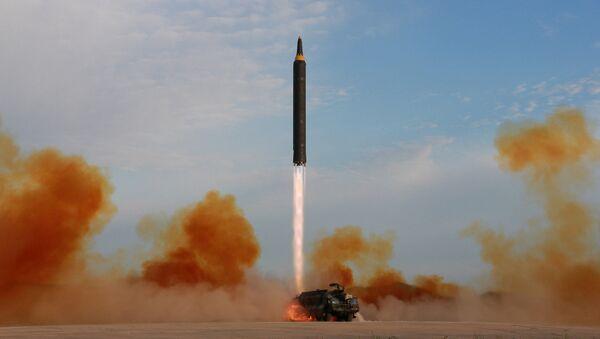 Odpálení balistické rakety  v KLDR - Sputnik Česká republika