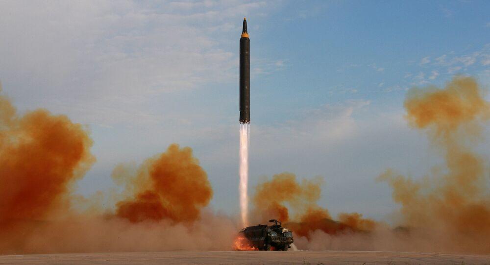 Odpálení balistické rakety v KLDR