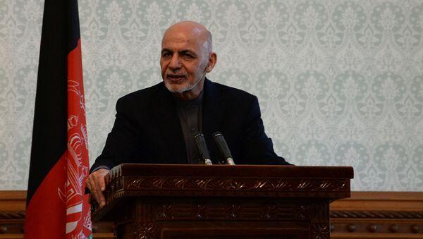 Prezident Afghánistánu Ašraf Ghaní - Sputnik Česká republika