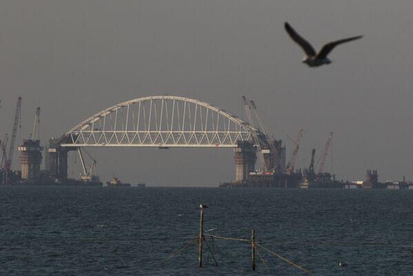 Stavba mostu přes Kerčský průliv - Sputnik Česká republika