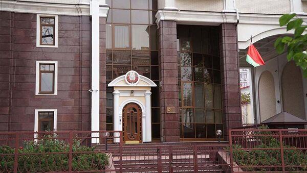 Běloruské velvyslanectví v Kyjevě - Sputnik Česká republika
