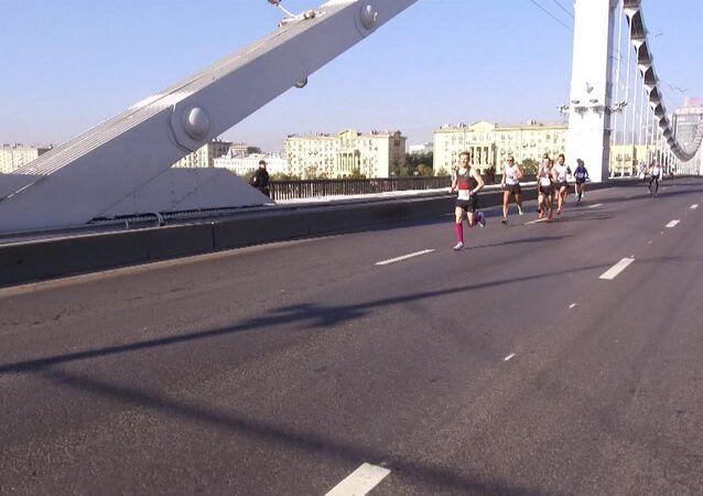 V Moskvě proběhl mezinárodní maratón