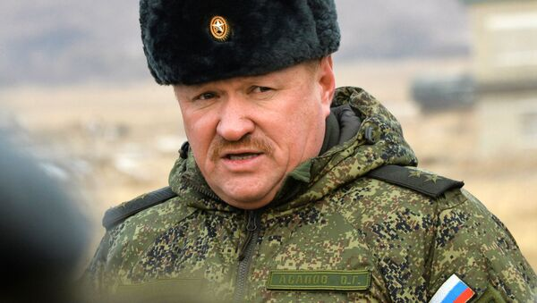 Generálporučík Valerij Asapov - Sputnik Česká republika