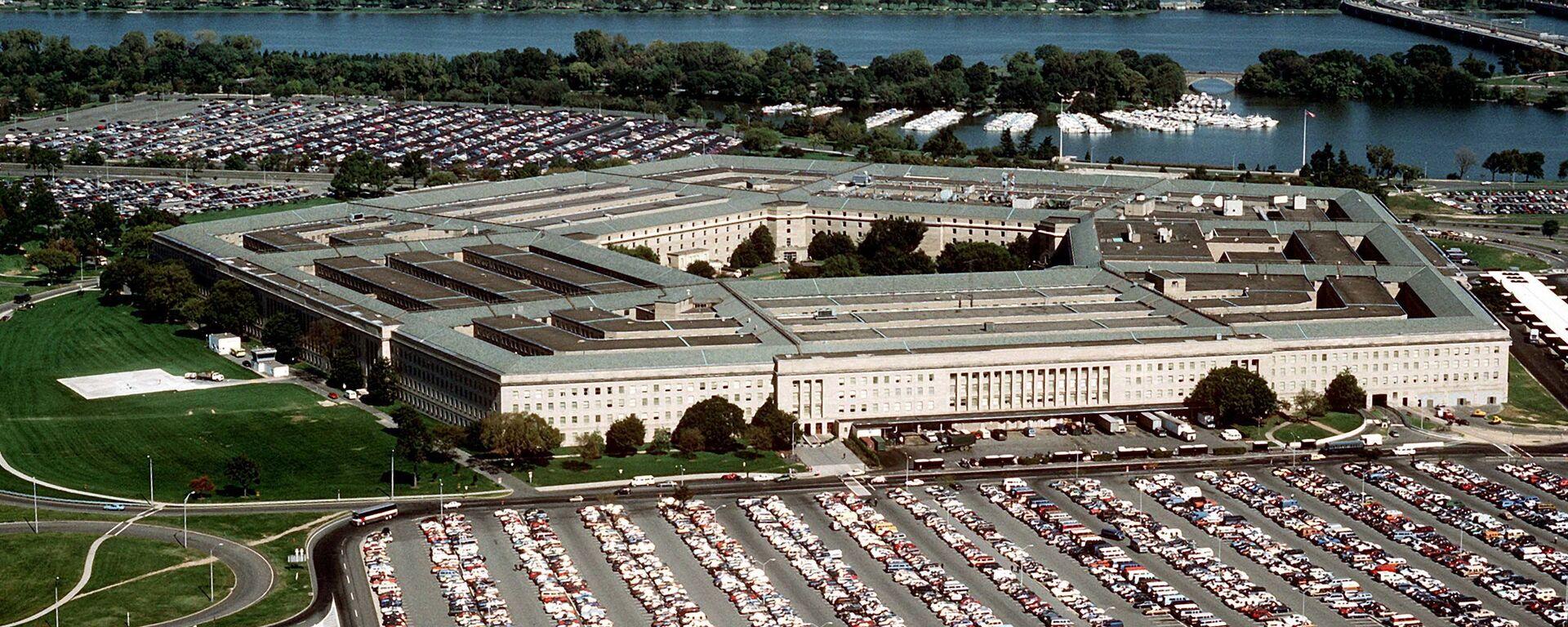 Budova Pentagonu - Sputnik Česká republika, 1920, 28.08.2021