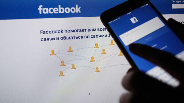 Sociální síť Facebook - Sputnik Česká republika