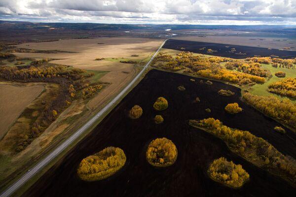 Zlatý podzim na Sibiři - Sputnik Česká republika