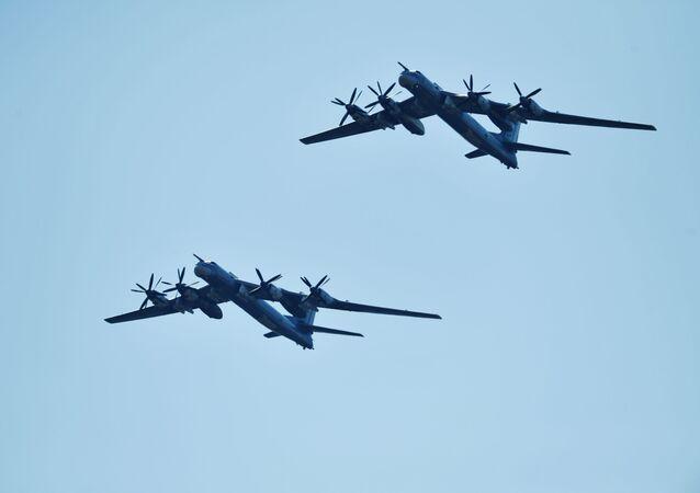 Ruské bombardéry Tu-95MS