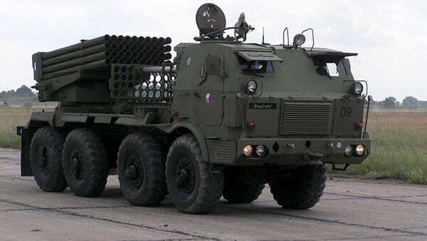 Raketomet RM-70 české armády - Sputnik Česká republika