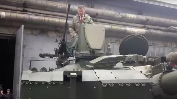 Ljaško slíbil, že v tanku dojede do Moskvy - Sputnik Česká republika