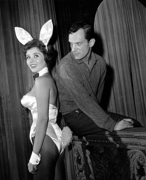 Zakladatel Playboye Hugh Hefner - Sputnik Česká republika