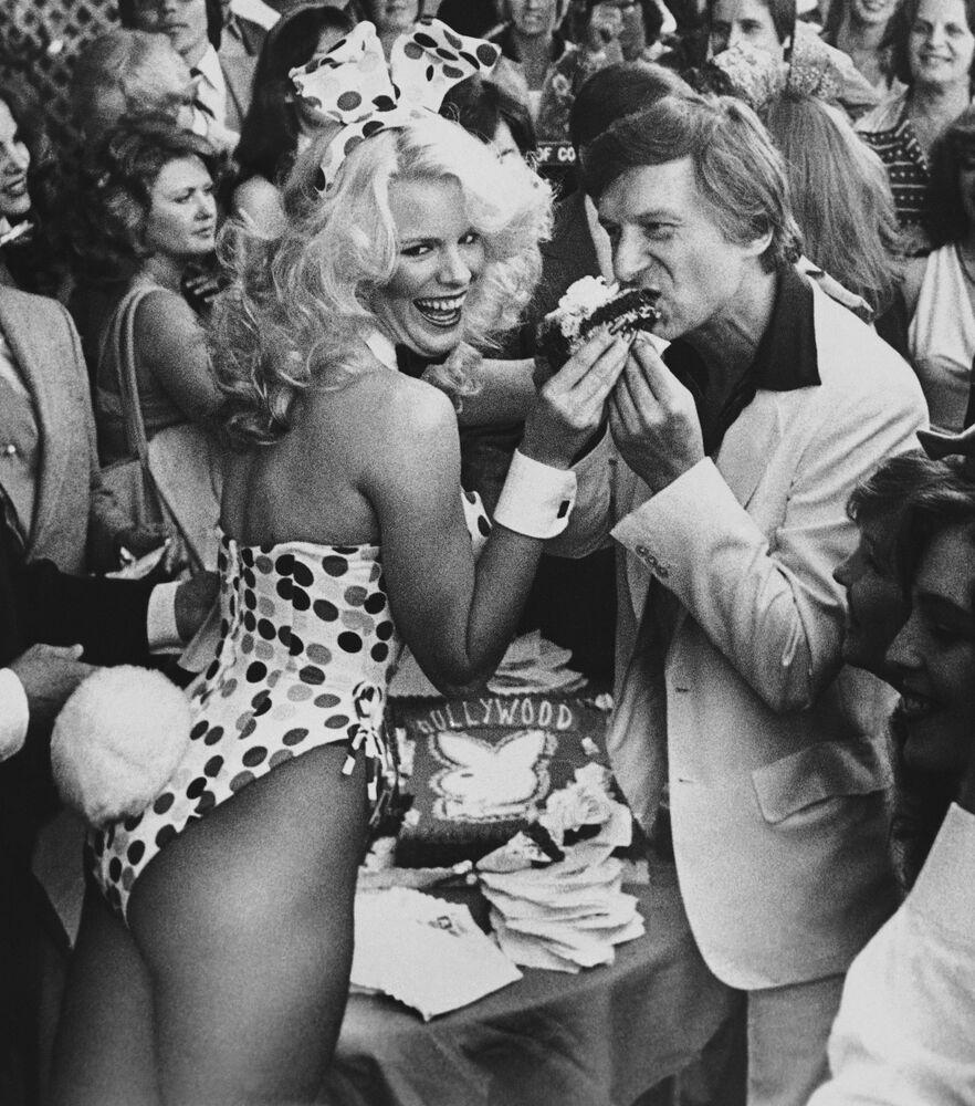 Zakladatel Playboye Hugh Hefner