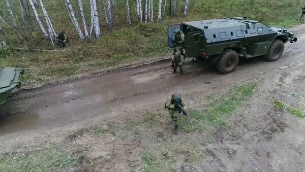 Cvičení raketových vojsk. Video - Sputnik Česká republika