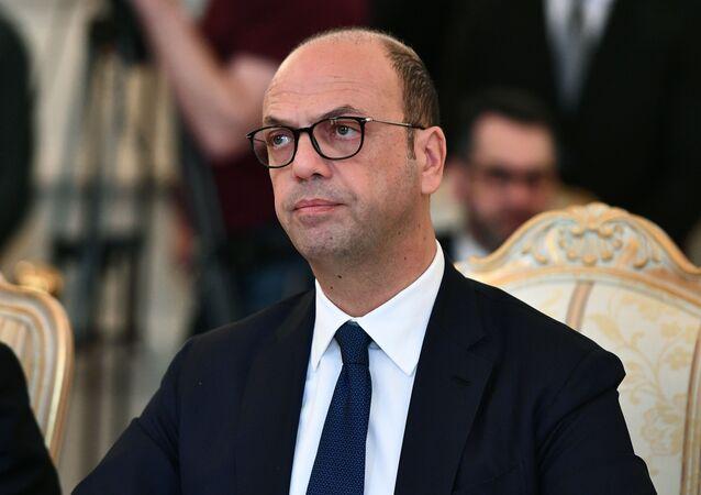 Italský ministr zahraničních věcí  Angelino Alfano
