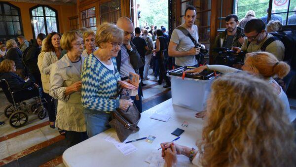 Referendum o nezávislosti v Katalánsku - Sputnik Česká republika