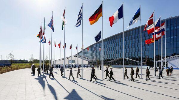 Brusel při summitu NATO - Sputnik Česká republika