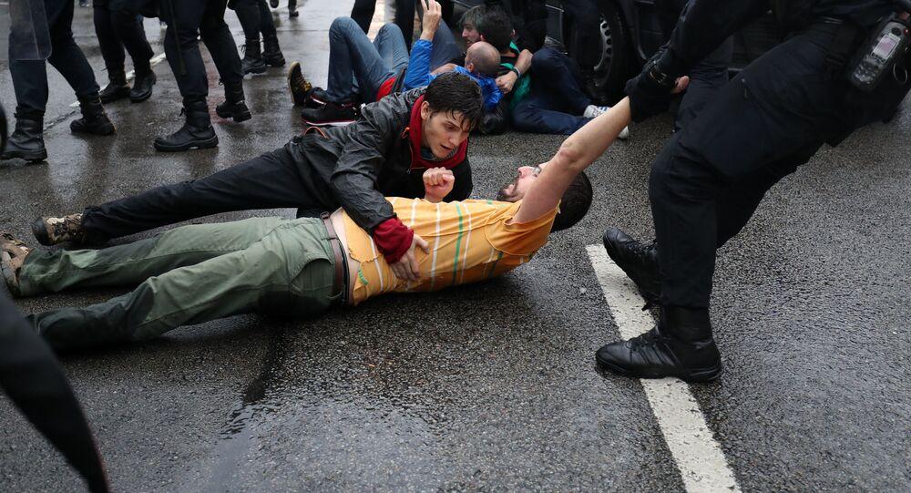 Střety s policií