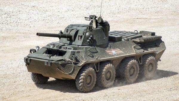 Nona na podvozku BTR-80 - Sputnik Česká republika