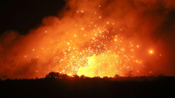 Požár v Kalinovce - Sputnik Česká republika