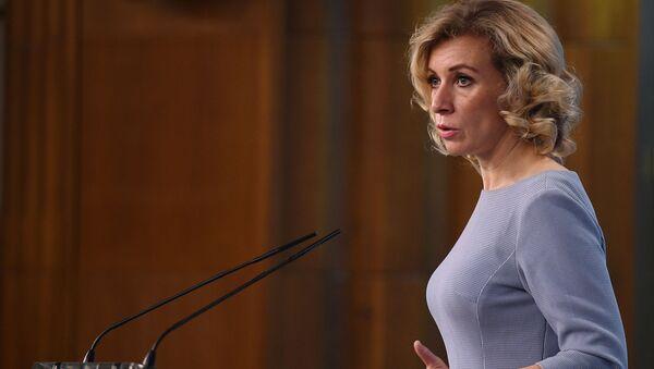 Tisková mluvčí MZV RF Maria Zacharovová - Sputnik Česká republika