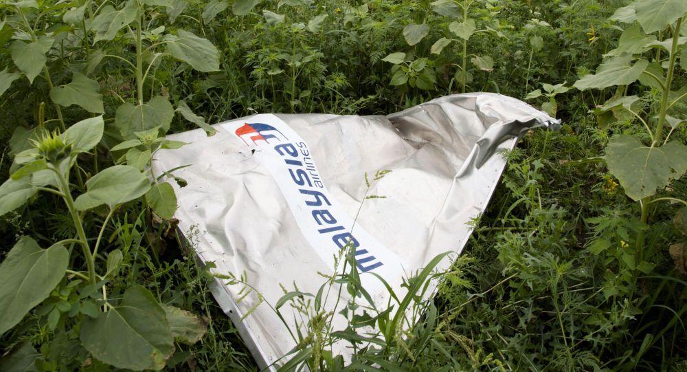 Úlomky MH17