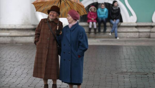 Důchodkyně v Petrohradu - Sputnik Česká republika
