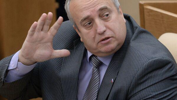 První místopředseda výboru Rady federace pro obranu a bezpečnost Franc Klincevič - Sputnik Česká republika