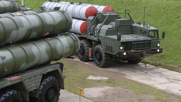 Protiletadlový komplex S-400 - Sputnik Česká republika