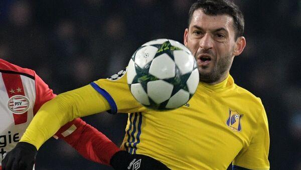 Záložník moldavské fotbalové reprezentace Alexandr Gackan - Sputnik Česká republika