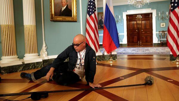 Před schůzkou Rexe Tillersona a Sergeje Lavrova - Sputnik Česká republika