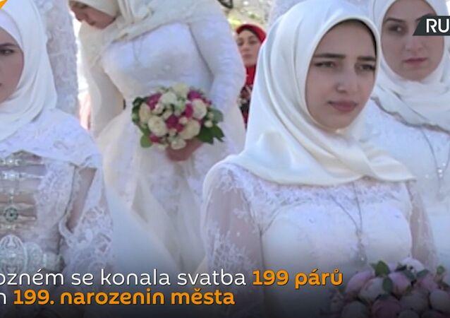 Koncerty, show a 199 nevěst: Groznyj oslavil své narozeniny. Video
