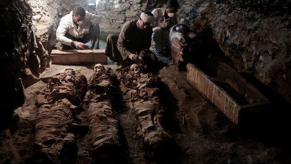 V Luxoru objevili dříve neznámou hrobku - Sputnik Česká republika