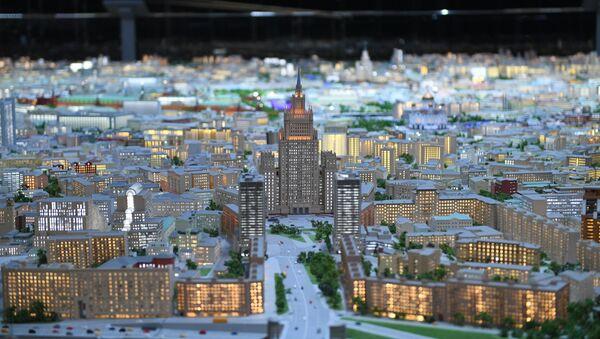 Model Moskvy na VDNCh - Sputnik Česká republika