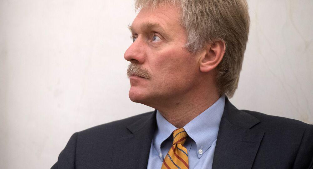Tiskový mluvčí prezident RF Dmitrij Peskov