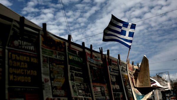 Řecká vlajka - Sputnik Česká republika