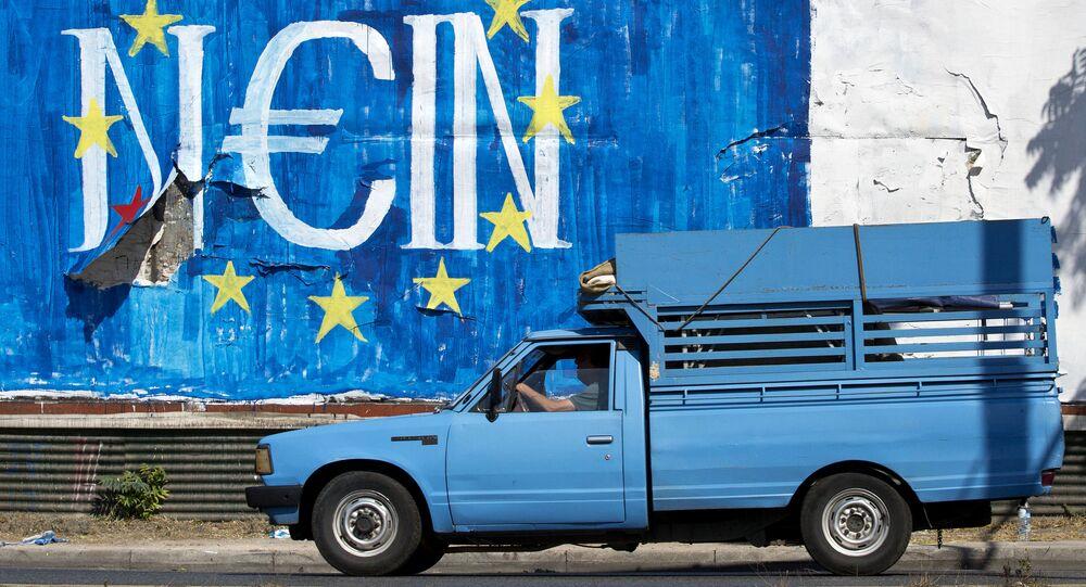 Graffiti v Aténach