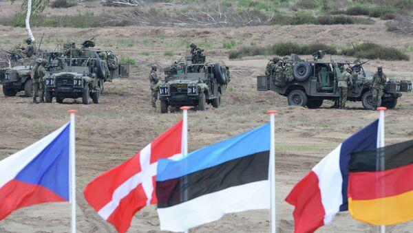 Vojenská cvičení NATO - Sputnik Česká republika