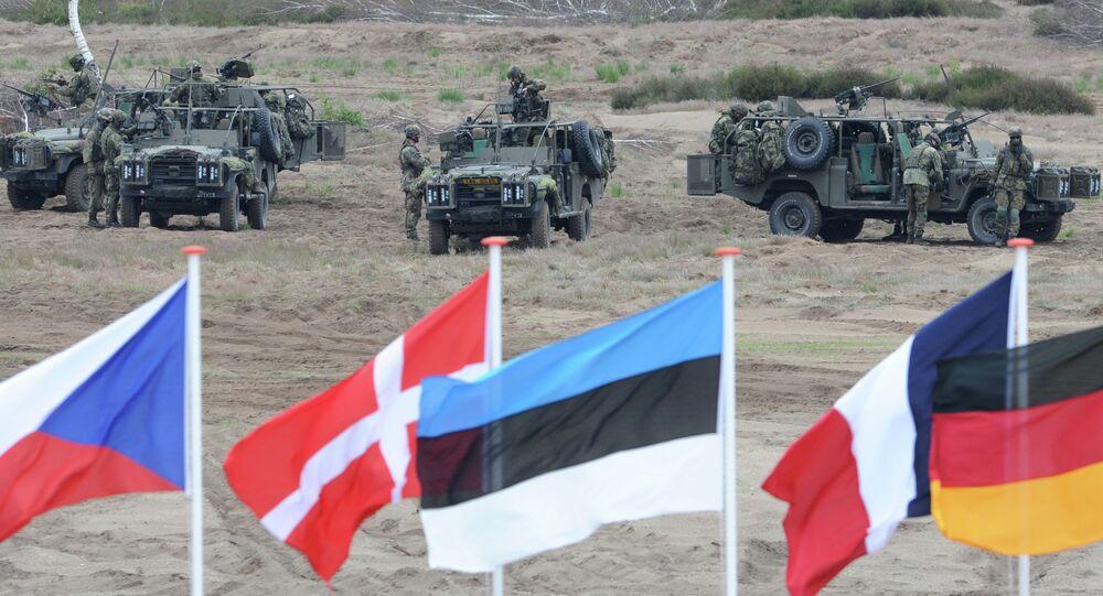 Vojenská cvičení NATO