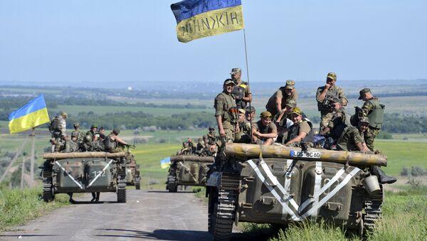 Ukrajinská vojenská technika - Sputnik Česká republika