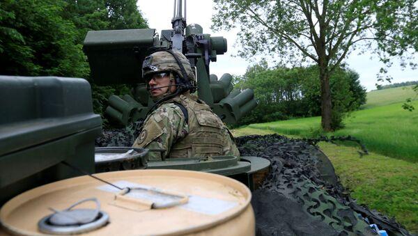 Americký voják v Polsku - Sputnik Česká republika