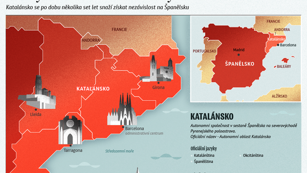 Střety Madridu a Barcelony - Sputnik Česká republika