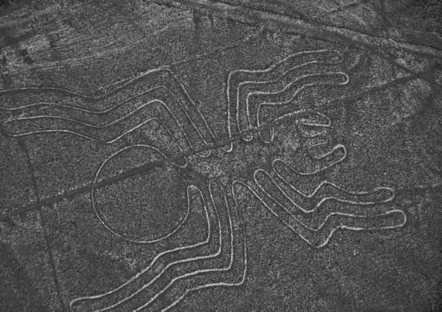 Náhorní plošina Nazca v Peru