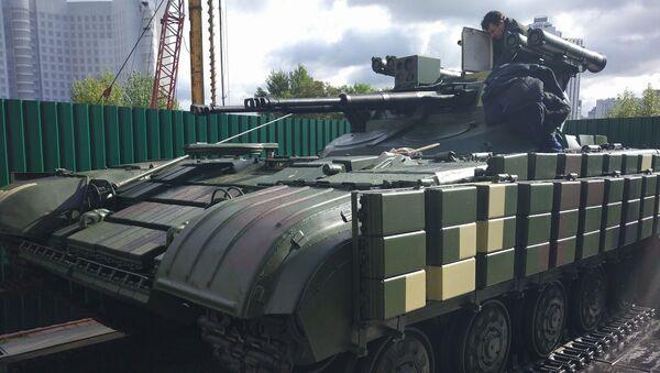 Ukrajinské bojové podpůrné vozidlo Straž - Sputnik Česká republika